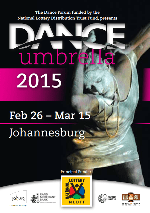 Tossie Van Tonder (Nobonke) at Dance Umbrella 2015